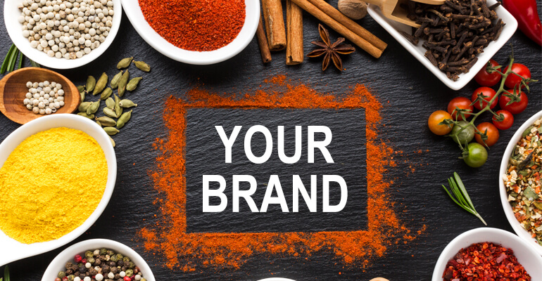Spice Powder Your Own Brand